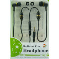 Air Tube, Anti-radiation Earphones, Superior sound quality, Stereo, 3.5mm