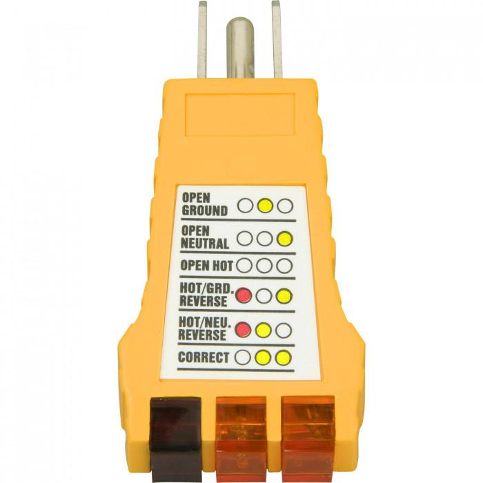 Vérificateur de prise électrique