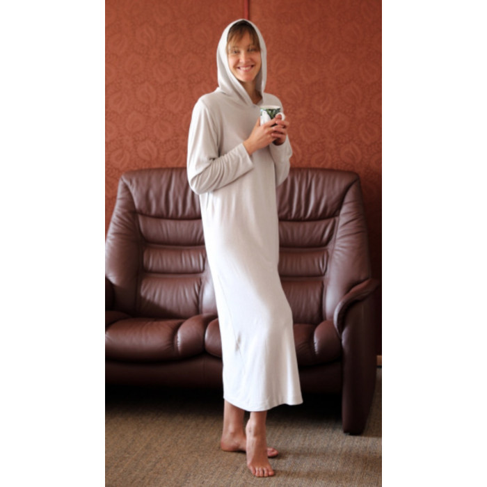 Shielding nightdress with hoody