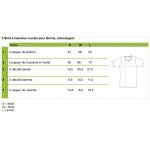 T-Shirt Blanc, écran pour femme